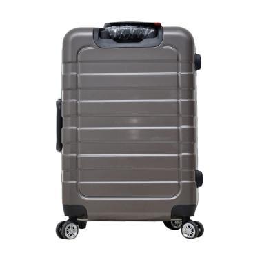 Dupont 8775 No Zipper Hardcase Koper - Coffee [24 Inch]