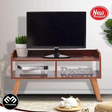 harga Blackmabel - Rak Buffet Meja TV televisi Serbaguna Simple Minimalis Blibli.com