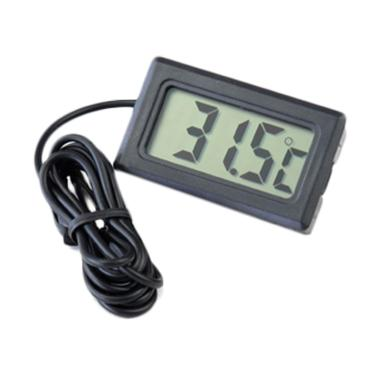 KIS Thermometer Digital - Black