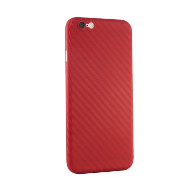 FIVEPMCASE Satin Aero Carbon Ultra  ... e 6 Plus or 6S Plus - Red