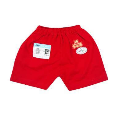 Miyo Celana Pendek Bayi - Merah