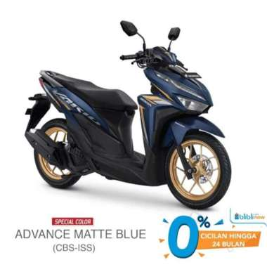 harga New Honda VARIO 125 CBS ISS Special Color Sepeda Motor [VIN 2021] Matte Blue Yogyakarta Blibli.com