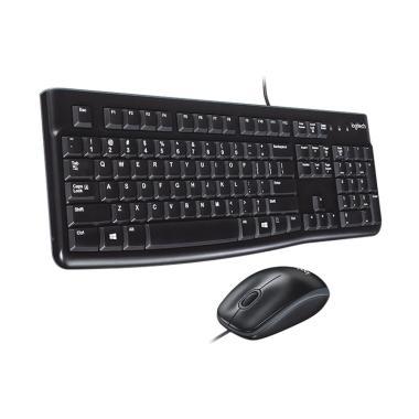 Logitech MK120 USB Keyboard dan Mouse