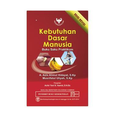 EGC Buku Saku Praktikum Kebutuhan Dasar Manusia by Azis Alimul Buku Edukasi