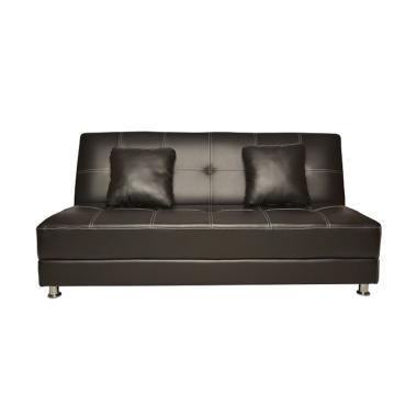 Olc Luxio Sofa Bed - Hitam [Khusus Jabodetabek]
