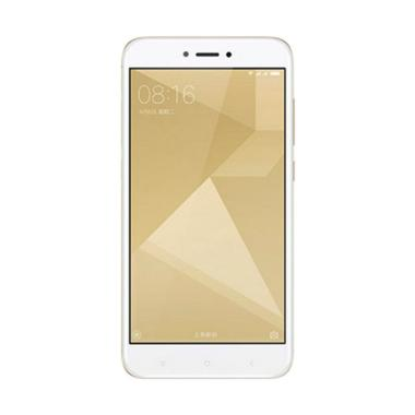 Xiaomi Redmi 4X Smartphone - Gold [32GB/3GB/Garansi Resmi TAM]