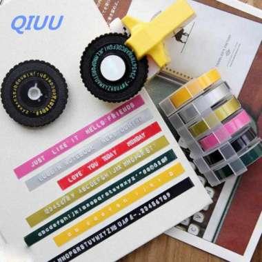 harga Embossing Printer Manual Manual Labeling Machine Bar Code Machine Mini Label import Blibli.com