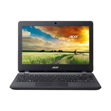 Acer ES1-132 Notebook - Black [Win10/DC N3350/4GB/500GB]