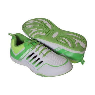Recordshoes Cupertino Sepatu Badminton - White Citroon
