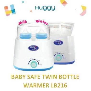 harga Baby Safe LB216 Twin Bottle Warmer Alat Steril Penghangat Botol Susu Anak Bayi Memakai Bubblewrap Blibli.com