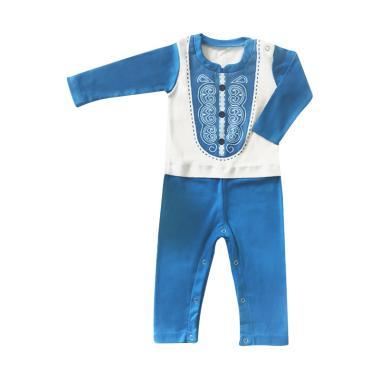 J Baby 216 Baju Terusan Koko Lengan Panjang [ 0 -12 Bulan]