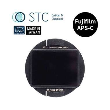 (STC)Clip Filter IR Pass 850nm Built-in infrared pass filter for Fujifilm APS-C