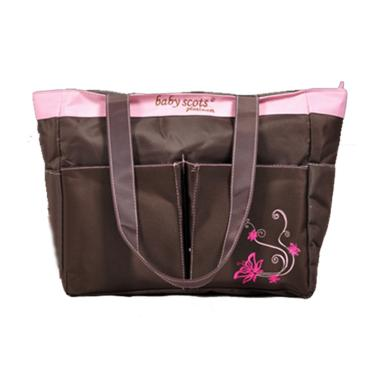 Baby Scots Platinum Mommy Bag 002 Tas Bayi - Pink