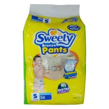 SWEETY BRONZE PANTS S 36+2S