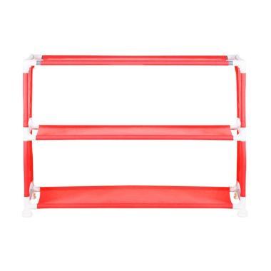 Nine box NBX-W3 Rak Sepatu Portable - Merah