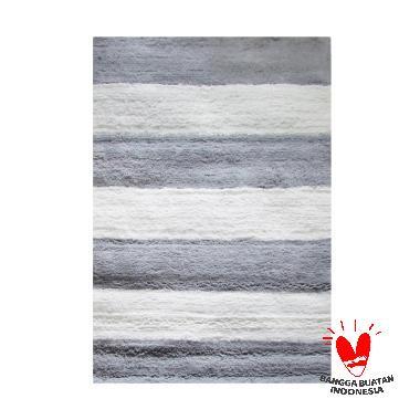 Rug House SS Stripe Karpet - Grey