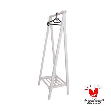 Uwitan Hanger Gantungan Baju - White