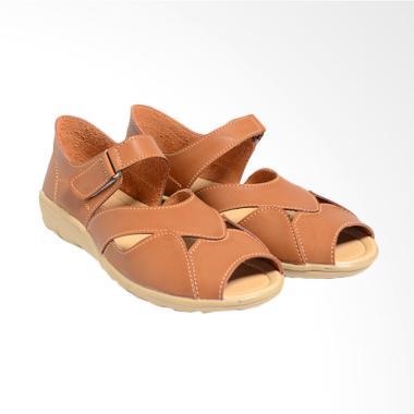 Dr.Kevin 43224 Women Sandals Wanita Camel