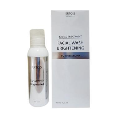 harga Erto's Facial Wash Brightening [Original BPOM] Blibli.com