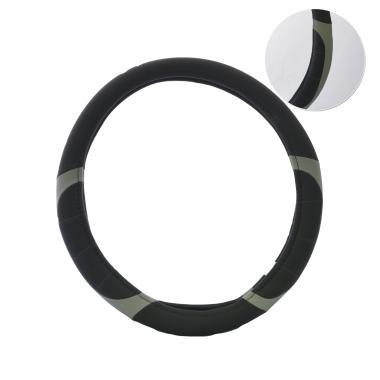 Carinn JX-163091 Sarung Stir Mobil - Black Grey