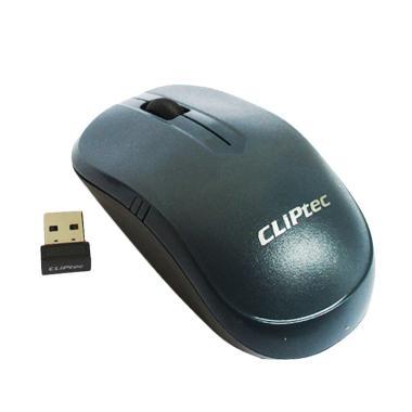 harga Cliptec RZS842 Mouse Wireless - Abu abu [2.4 GHz/842] Blibli.com