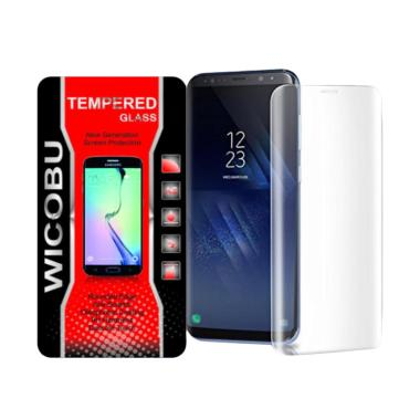 Wicobu Tempered Glass Screen Protec ... or S8 Plus - Clear [Full]