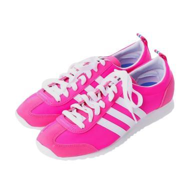 adidas Original Jogging Shoes Vs Jo ... ri Wanita - Pink [Aq1521]