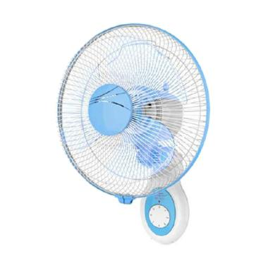 Maspion MWF-3002K Wall Fan Kipas Angin Dinding - Biru [12 Inch]