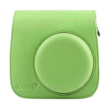 Fujifilm Leather Bag Kamera Instax  ... olaroid Case - Lime Green