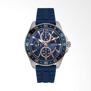 GUESS Jam Tangan Pria - Blue [W0798G2]
