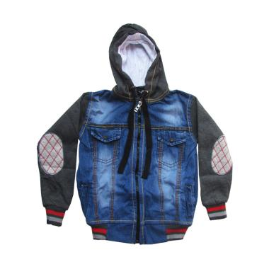 Rainy Collections Jaket Jeans Anak Laki-Laki - Abu Tua [2-5 Tahun]