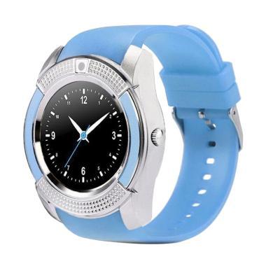 SOXY CC0406B The New V8 Intelligent Men's Camera Smartwatch - Blue