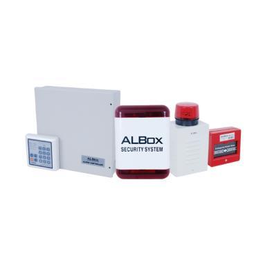 ALBOX ACP-811A Paket Alarm Security Sytem 8 Zone with Keypad