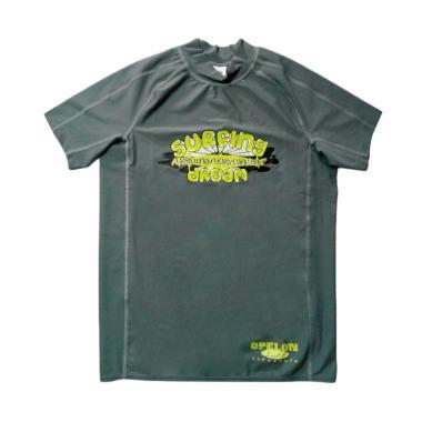 OPELON Men's Rash Vest Baju Renang Pria - Abu [11.9003.001.16.GY]