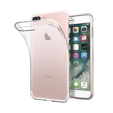 Spigen Liquid Crystal Casing for Iphone 8 Plus - Crystal Clear