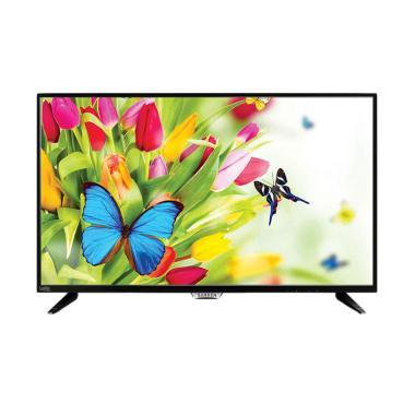 Sanken SLE-328 LED TV - Black [32 I ... abel Antena 20M+Instalasi