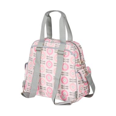 The Bumble Collection Brittany Backpack in Modern Floral Tas Bayi