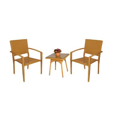 Pine Rotan 004 Furniture Set Kursi Tamu