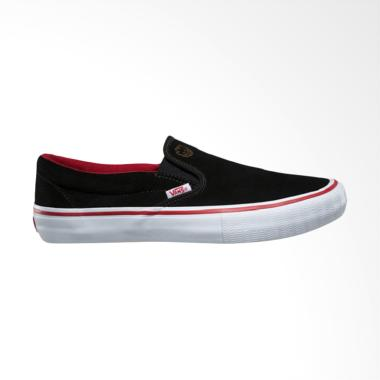 Vans X Spitfire Slip On Sepatu Skate - Black Red