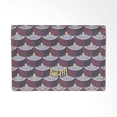 Faure Le Page Card Wallet Pouch - Maroon [100% Original - FLP]