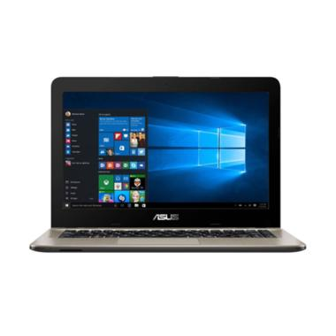 Asus X441UV-GA240T Laptop - Black [ ... HDD/14 Inch/Win 10] Hitam