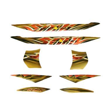 harga Idola Striping Body Motor for Mio Soul 2010 - Hitam Gold Blibli.com