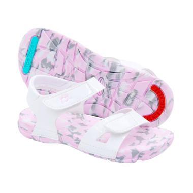Toezone Kids Kei Ch Camo Sepatu Anak Perempuan - White