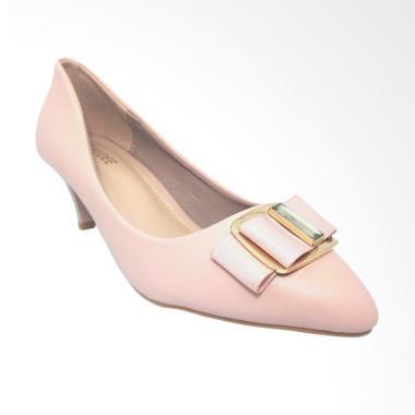 Kaydee 333-0694 Heels Pantofel Import Sepatu Wanita - Pink