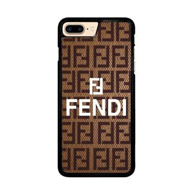 Flazzstore Fendi Brown Z3923 Custom ... e 7 Plus or iPhone 8 Plus