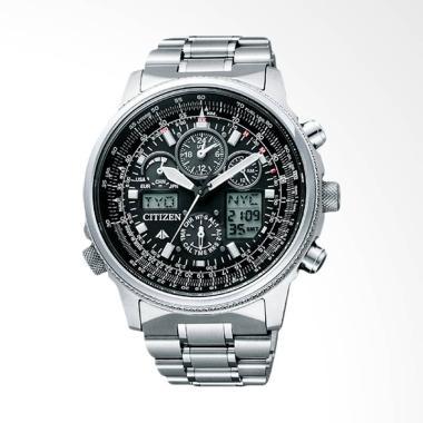 Citizen Promaster Sky Eco-Drive Jam ... Black Silver [65-2271-01]