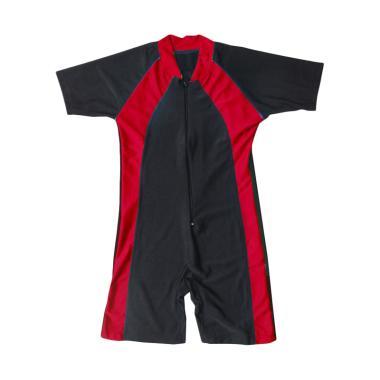 Rainy Collections Diving Polos Baju ... - Lis Merah Tua [Size TK]