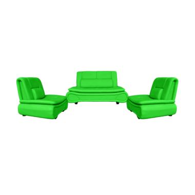 FCENTER 211 Lunaria Set Sofa - Green Pulau Jawa*)