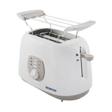 Denpoo DT-023SD Bread Toaster Pemanggang Roti Elektrik - White