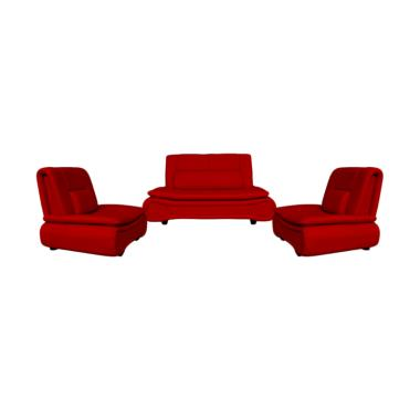 FCENTER 211 Lunaria Sofa - Merah Pulau Jawa*)